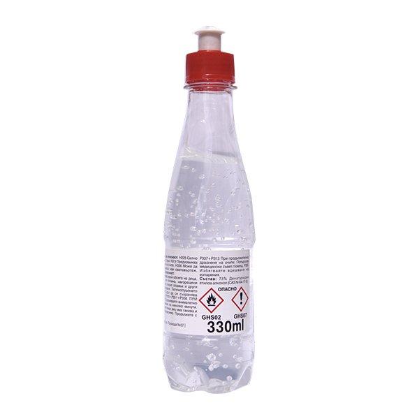 Αντισηπτικό Gel Χεριών με 73% Αιθυλική Αλκοόλη 330ml