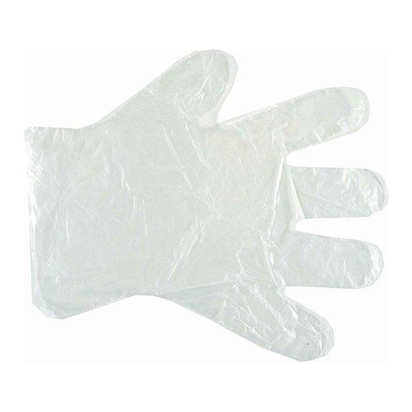 Γάντια Πολυαιθυλενίου Διάφανα (One Size - Large) Σετ 100 Τεμαχίων