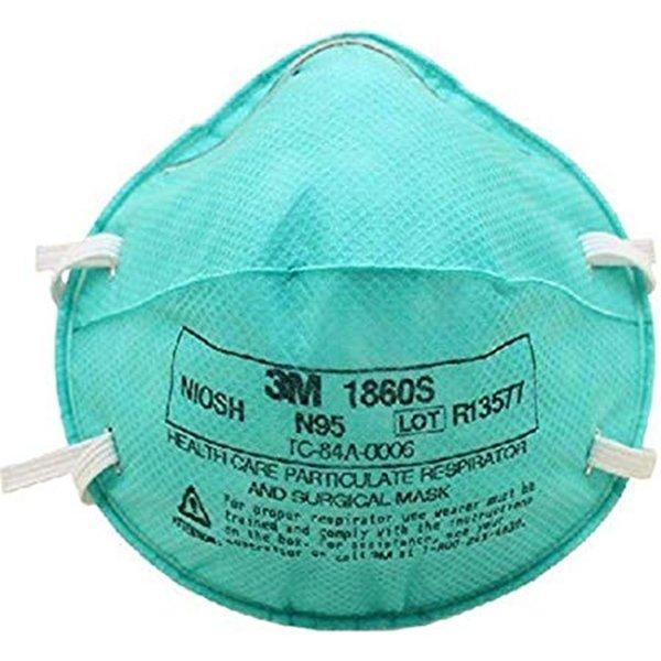 Επαγγελματική Ιατρική Μάσκα Πολλαπλών Χρήσεων Ν95 NIOSH - Μοντέλο 3Μ 1860