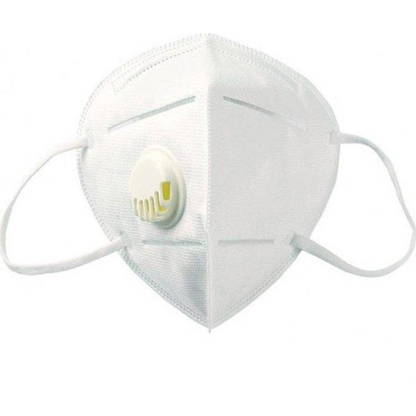 Επαγγελματική Ιατρική Μάσκα Προστασίας Πολλαπλών Χρήσεων KΝ95 με βαλβίδα - FFP2