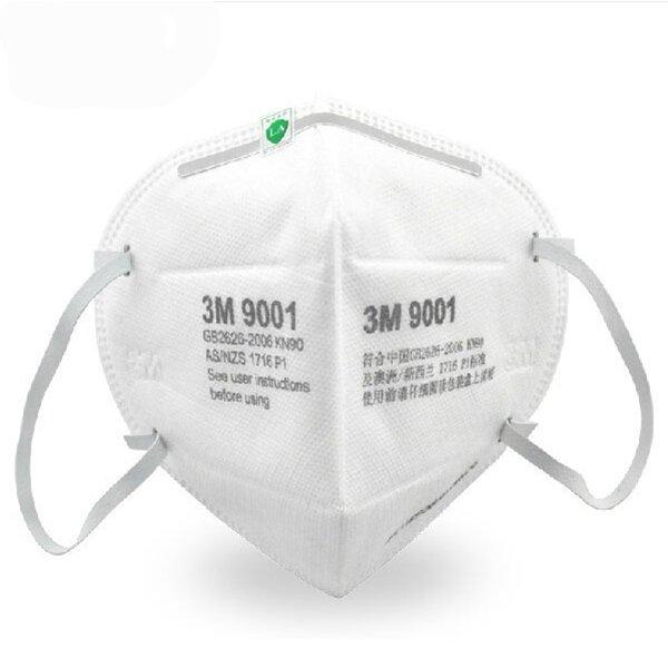 Μάσκα Προστασίας Πολλαπλών Χρήσεων FFP2 - Μοντέλο 3Μ 9001