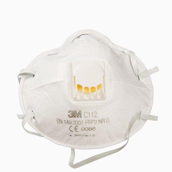 Μάσκα Προστασίας Πολλαπλών Χρήσεων FFP2 - Μοντέλο 3Μ C112
