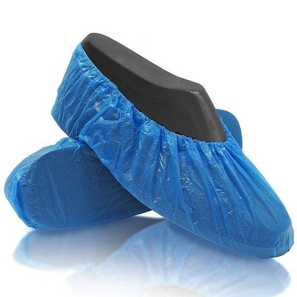 Κάλυμμα Υποδημάτων Μιας Χρήσεως Μπλε (100τμχ)