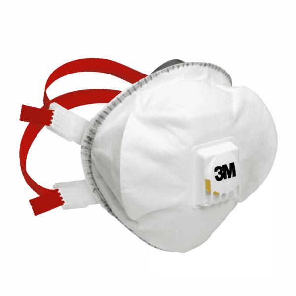 Επαγγελματική Μάσκα Σωματιδίων FFP3 Πολλαπλών Χρήσεων με βαλβίδα 3M™ 8835+